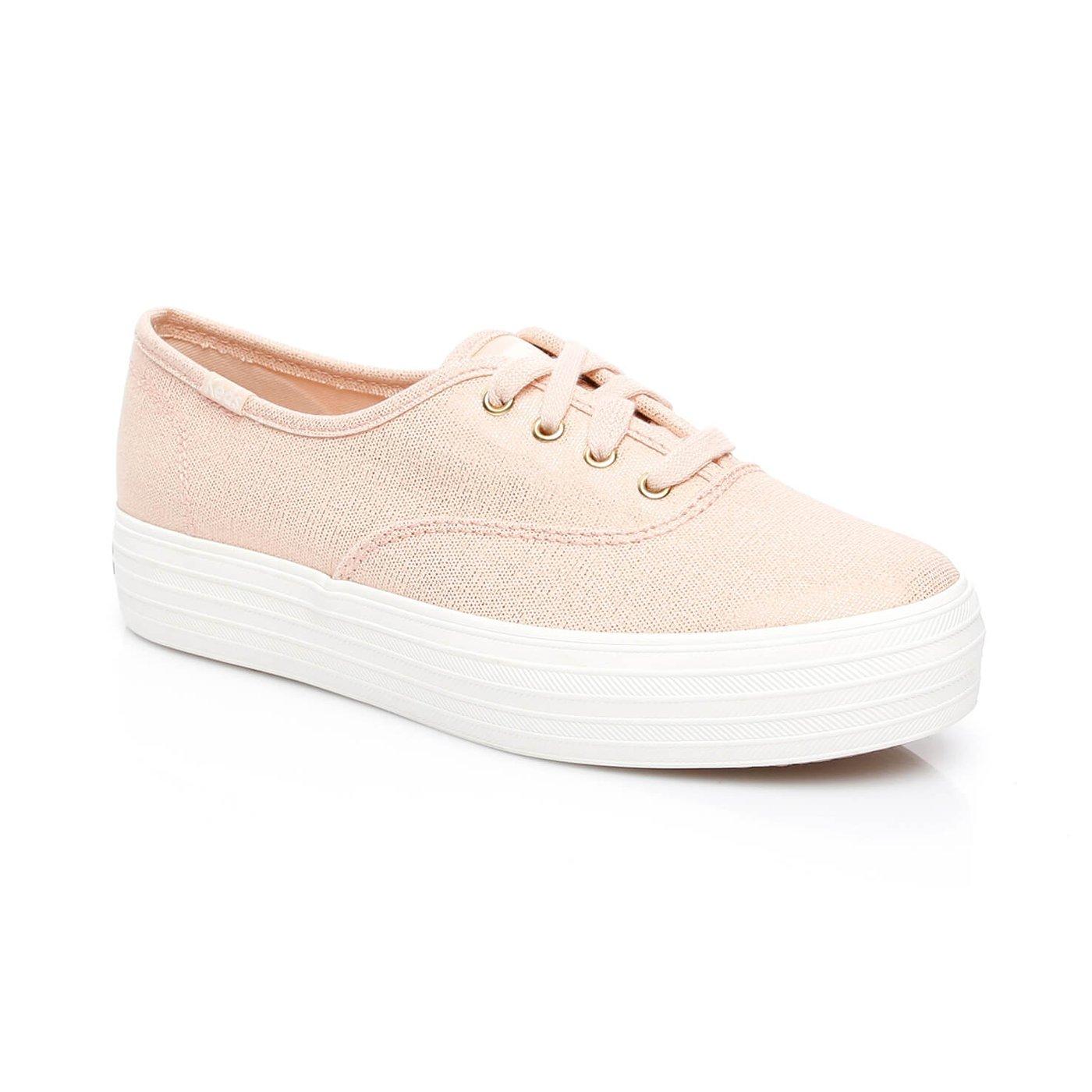 Triple Kadın Pembe  Sneaker