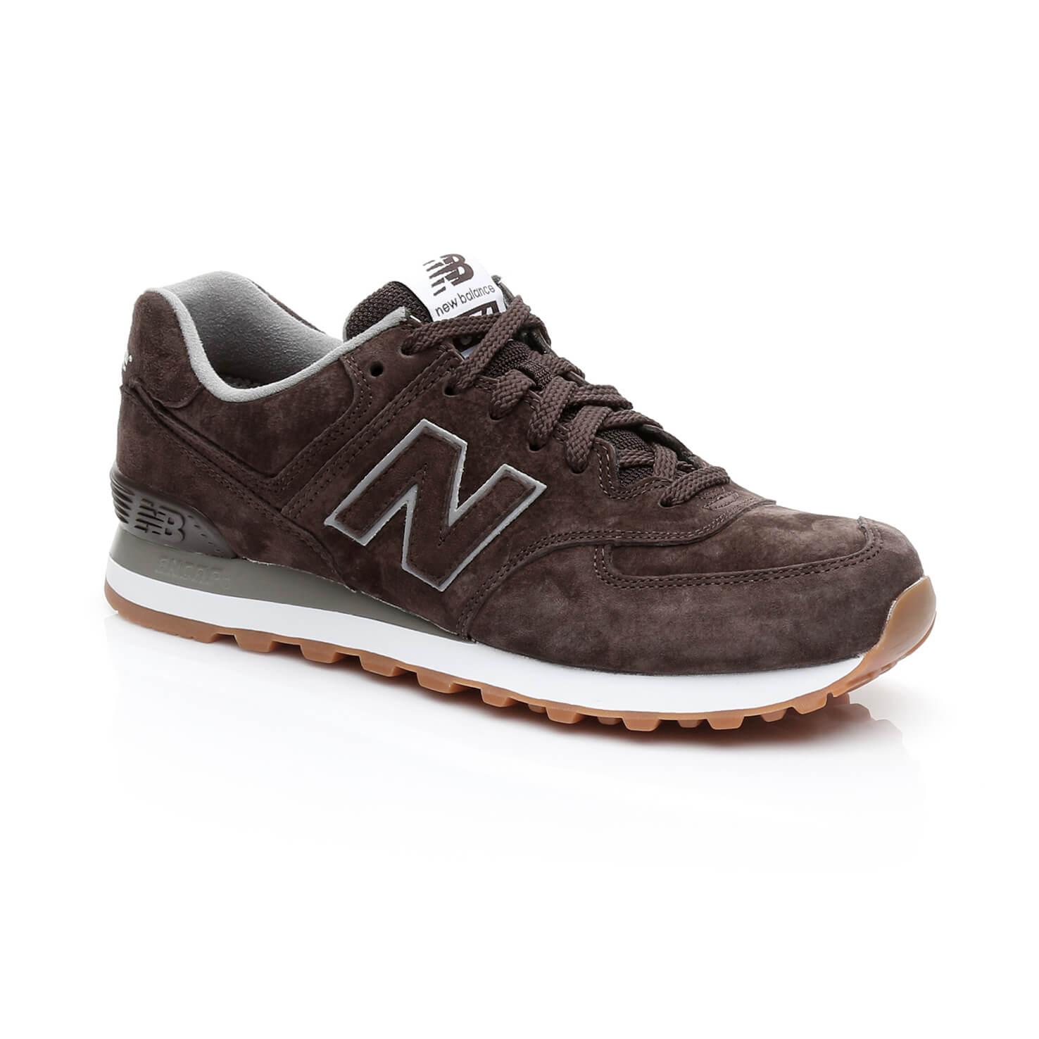 New Balance 574 Erkek Kahverengi Sneaker