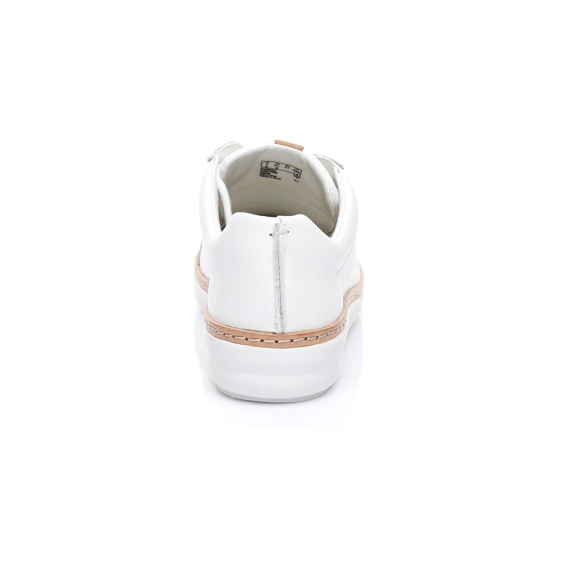 Clarks Amberlee Rosa Beyaz Sneakers