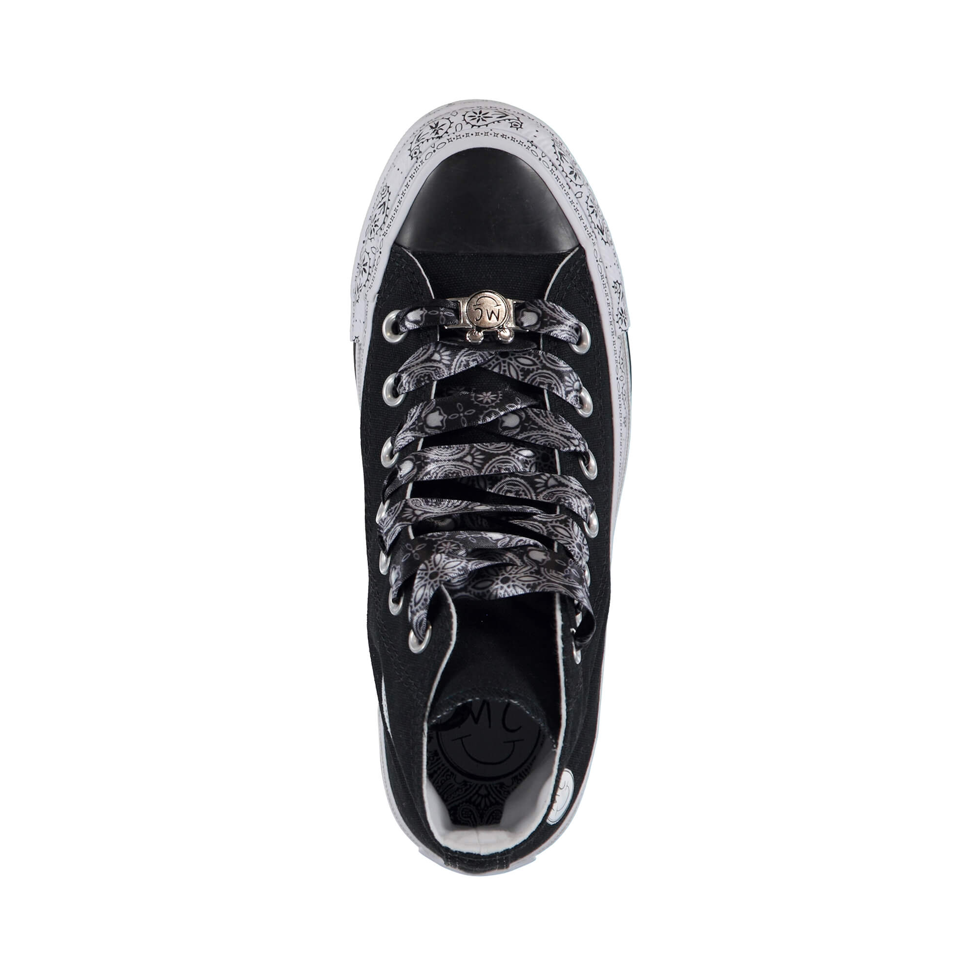 Converse X Miley Cyrus Chuck Taylor 'Bandana' Kadın Siyah Sneaker
