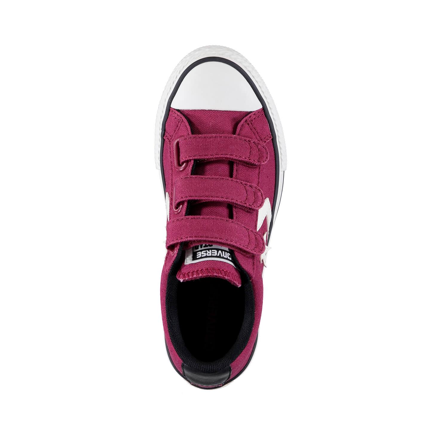 Converse Star Player 3V Çocuk Bordo Sneaker