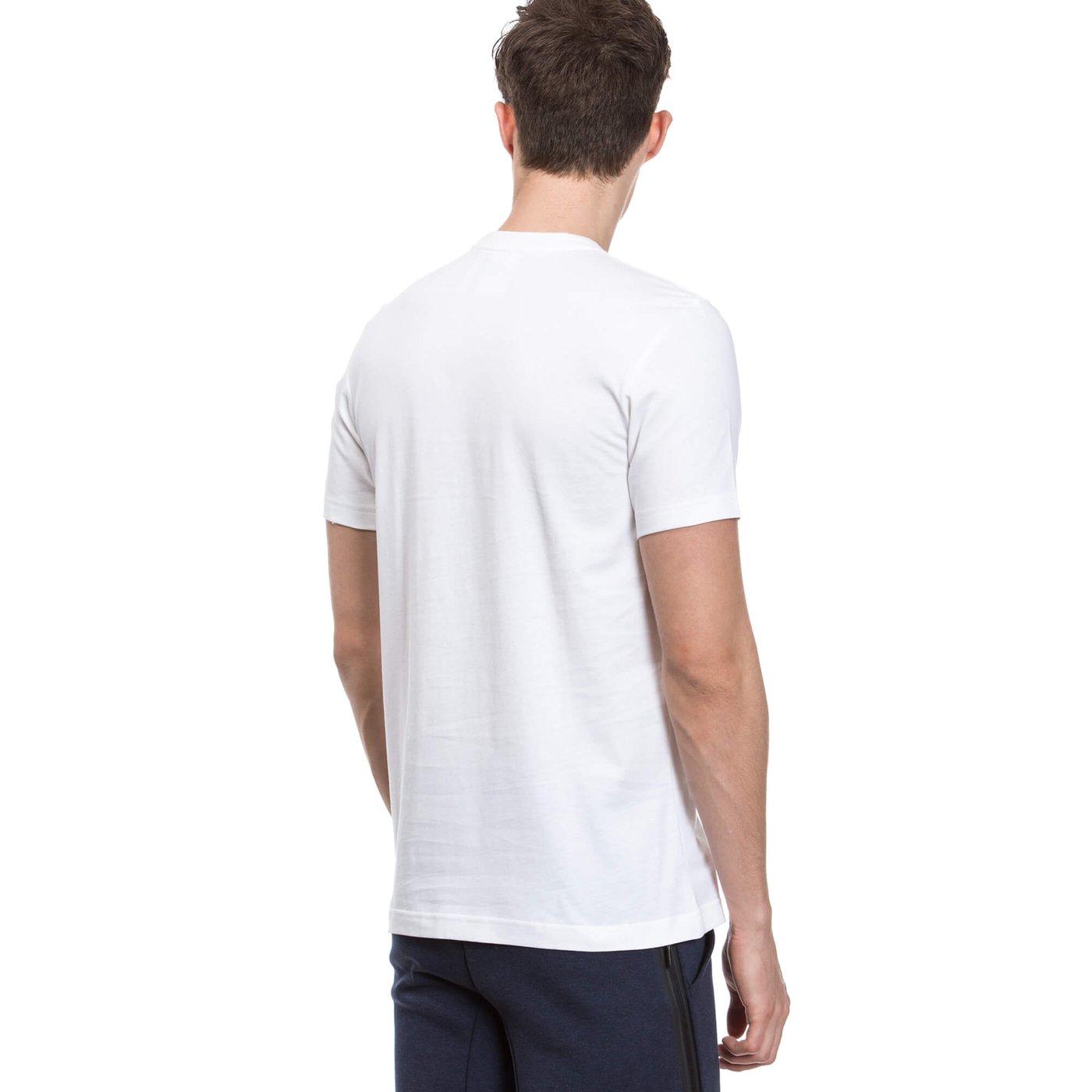 adidas Tongue Label Erkek Beyaz Tshirt