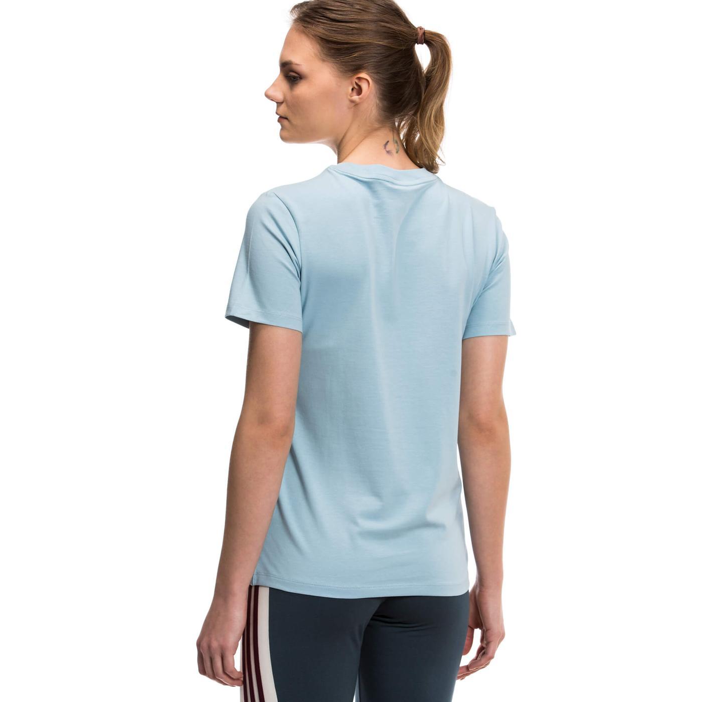 adidas Trefoil Tee Kadın Mavi Tshirt