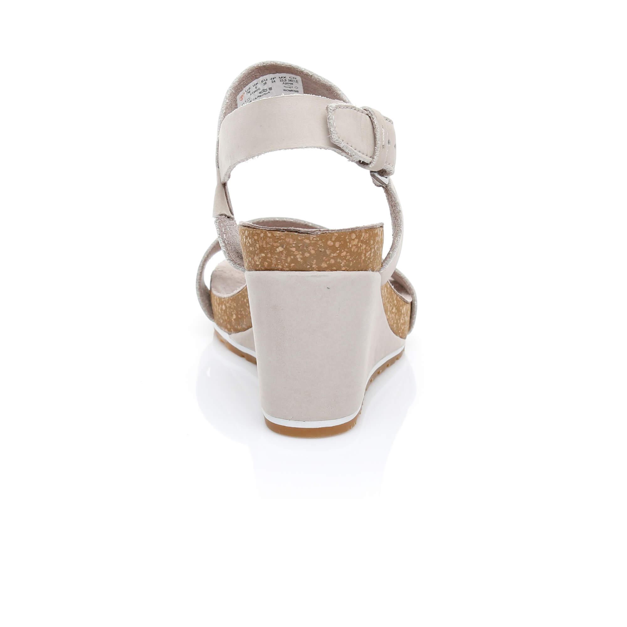 Timberland Capri Sunset Kadın Bej Dolgu Topuk Ayakkabı