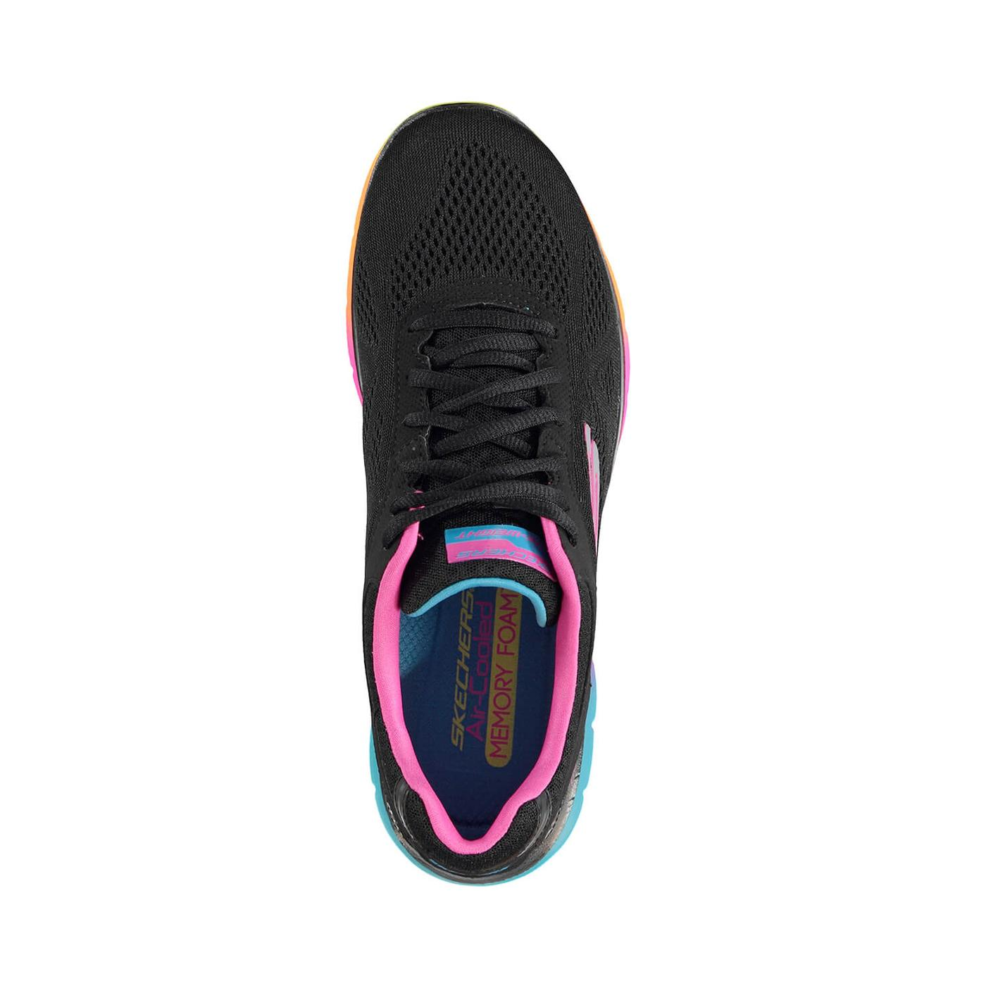 Skechers Flex Appeal 2 0 Kadın Siyah Sneaker