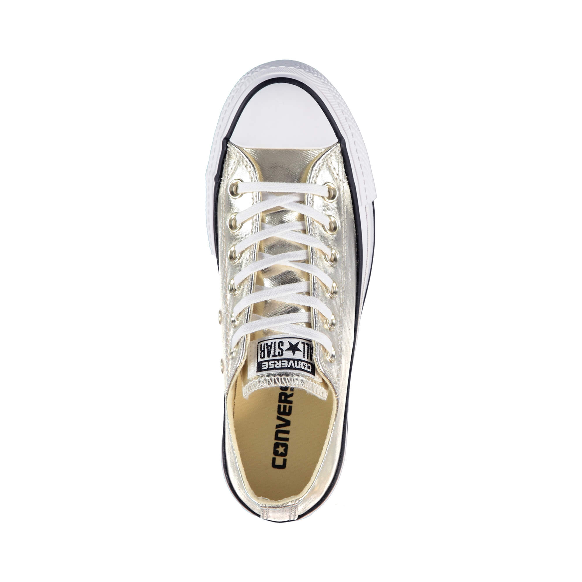 Converse Chuck Taylor All Star Lift Kadın Altin Sneaker