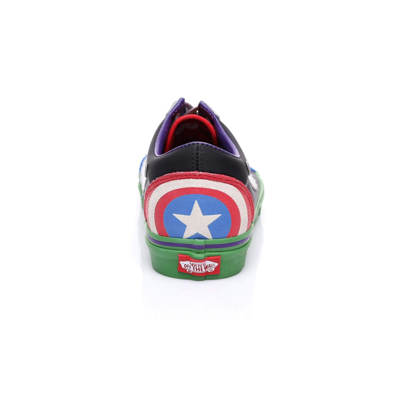 Vans x Marvel Avengers Ua Old Skool Erkek Renkli Sneaker