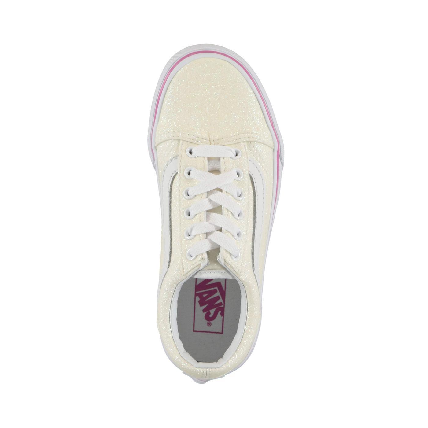 Vans Uy Old Skool Çocuk Beyaz Sneaker