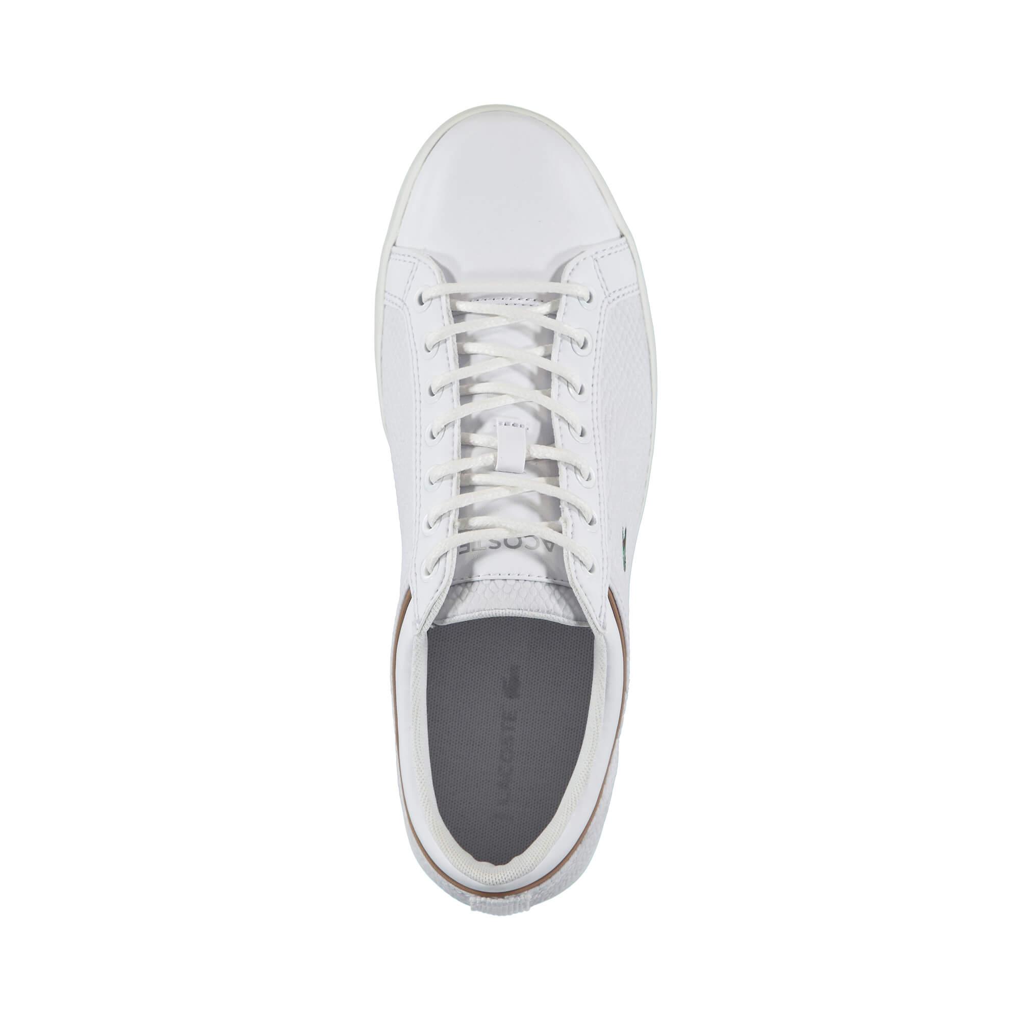 Lacoste Straightset Erkek Beyaz Sneaker