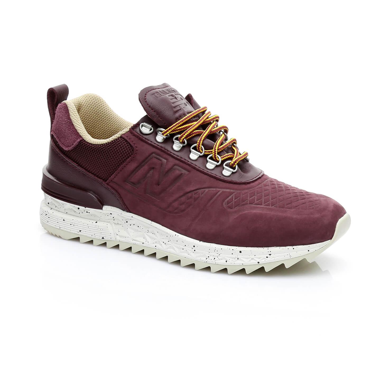 New Balance Trail Erkek Bordo Sneaker