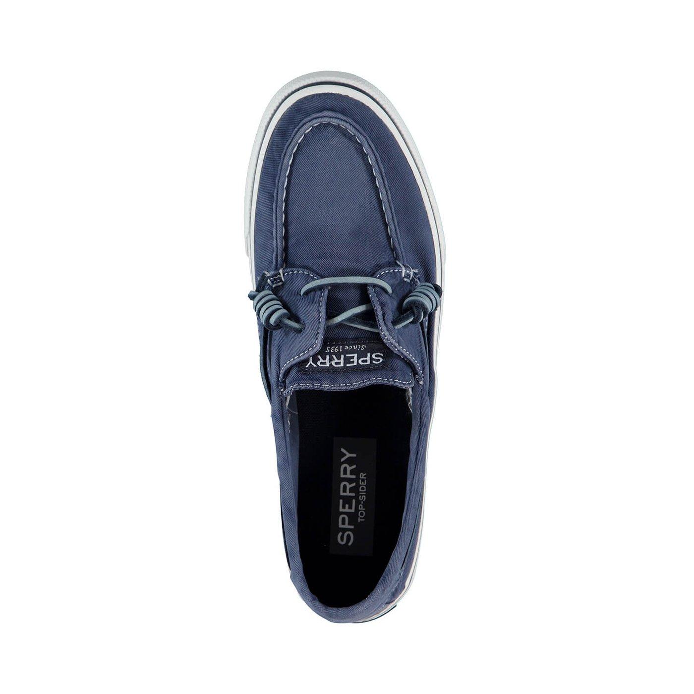 Sperry Bahama 2-Eye Washed Erkek Lacivert Sneaker