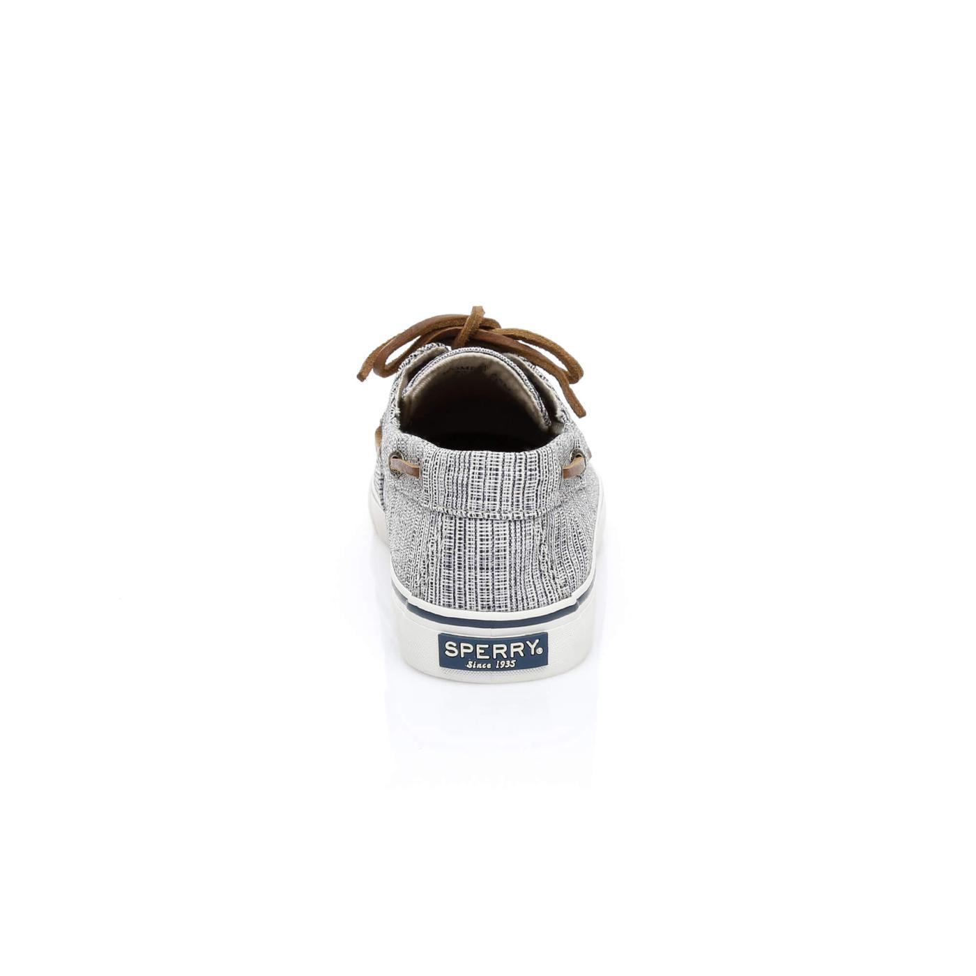 Sperry Bahama Canvas Hatch Kadın Siyah Sneakers