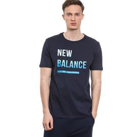 New Balance Erkek Lacivert Tshirt