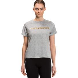 New Balance Kadın Gri T-Shirt