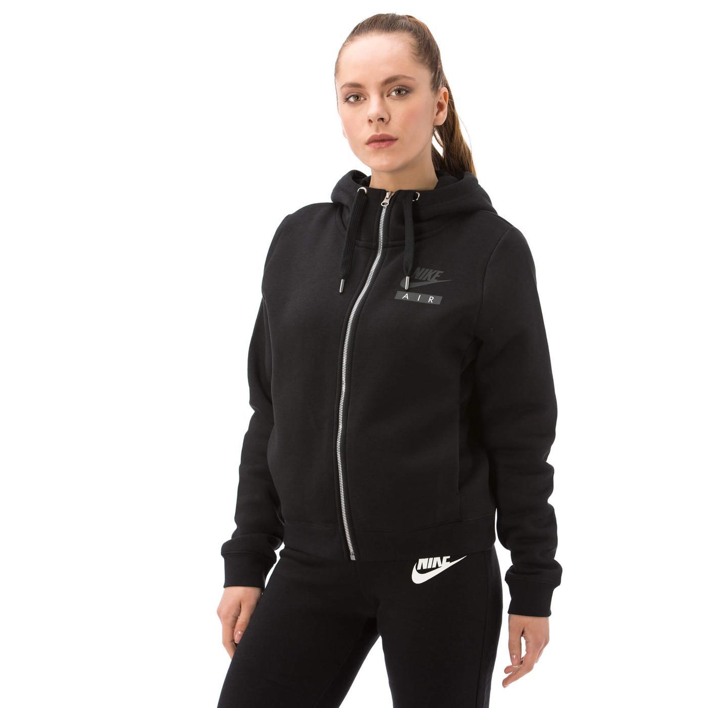 Nike Air Rally Kadın Siyah Sweatshirt
