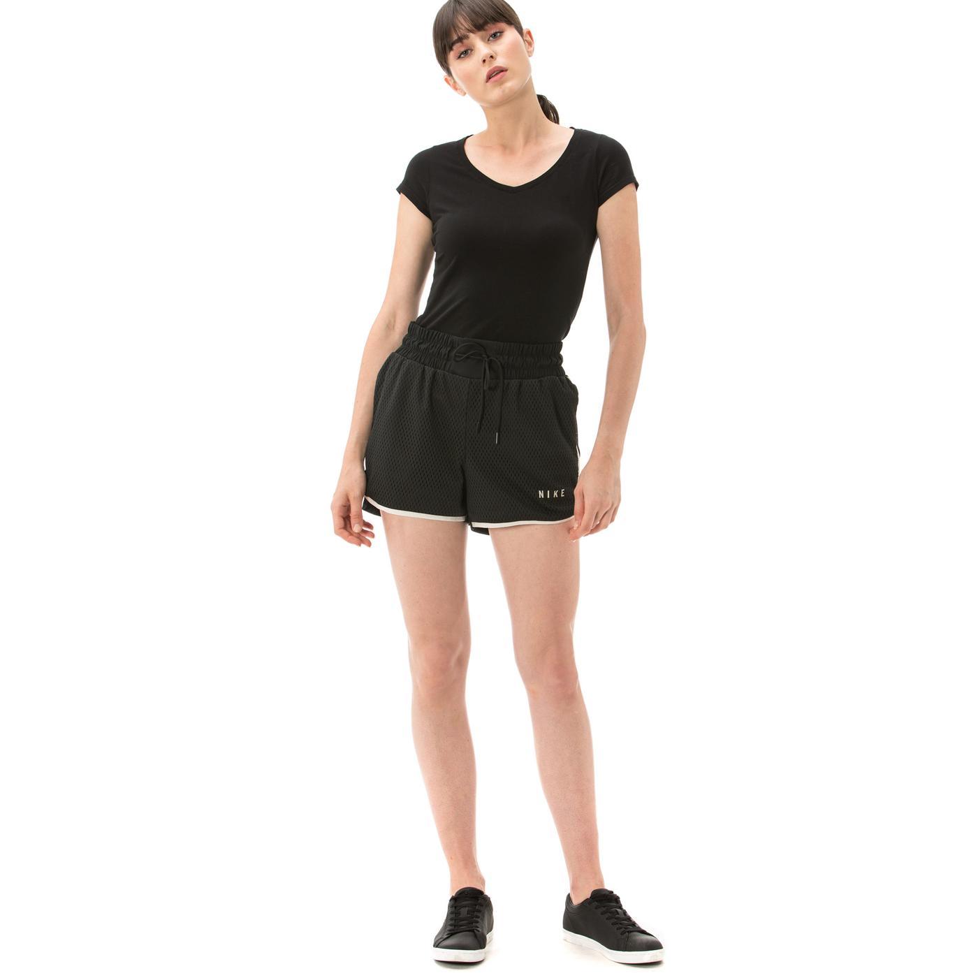 Nike Sportswear Mesh Kadın Beyaz Şort