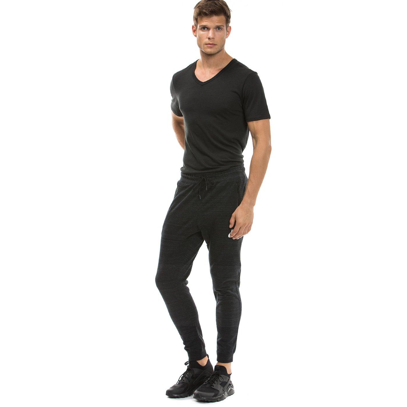 Nike Nsw Av15 Jggr Flc Erkek Siyah Eşofman Altı