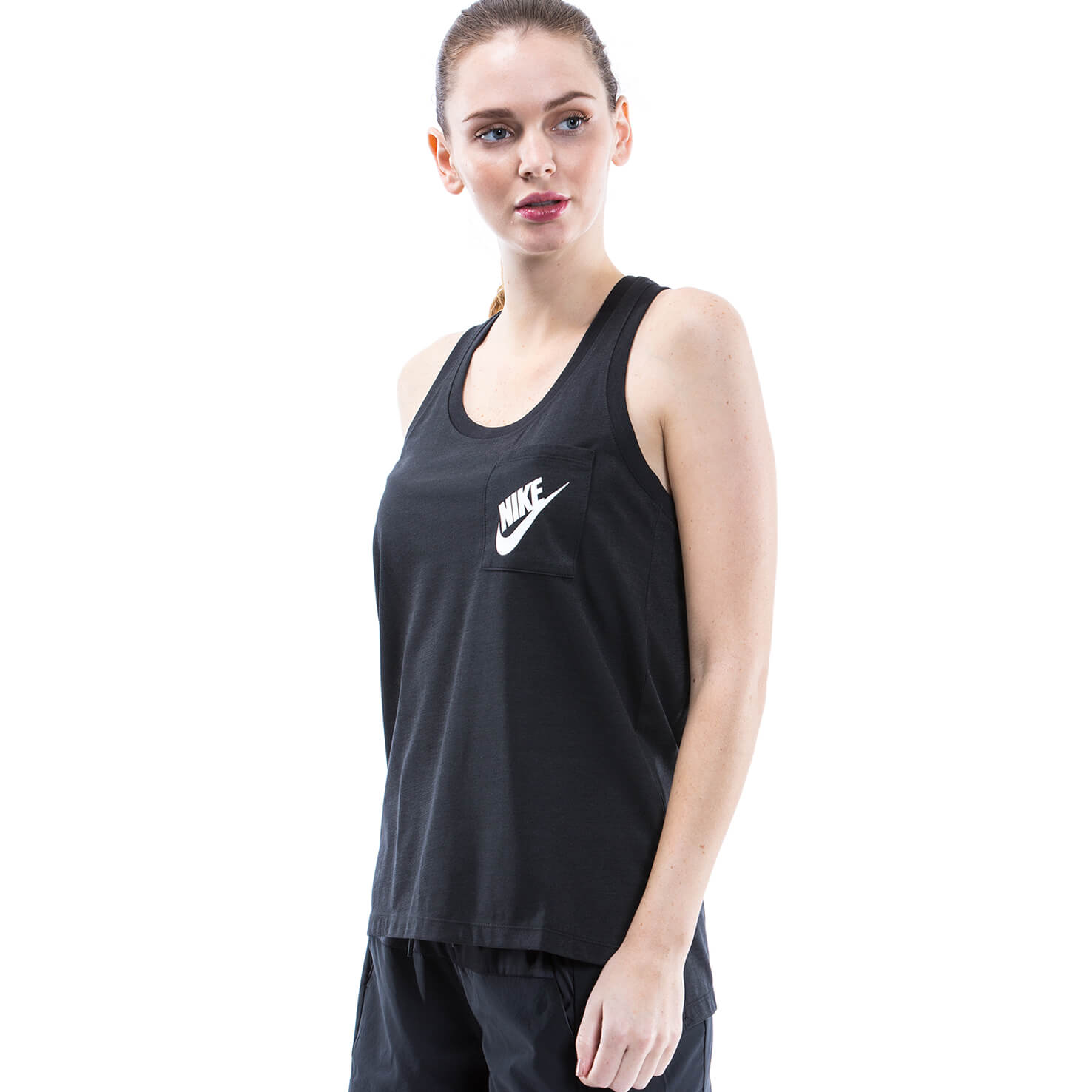Nike Kadın Siyah T-Shirt