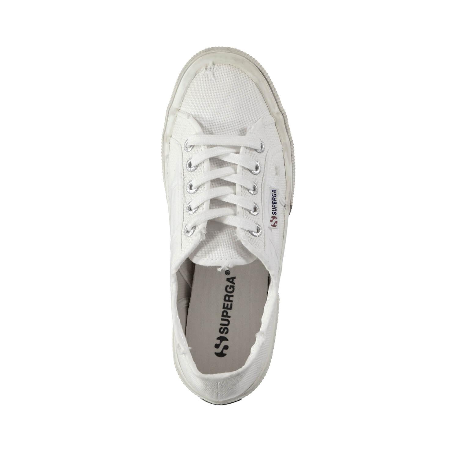 Superga Cotu Stone Wash Kadın Beyaz Sneaker
