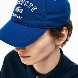 Lacoste Denim Unisex Mavi Şapka