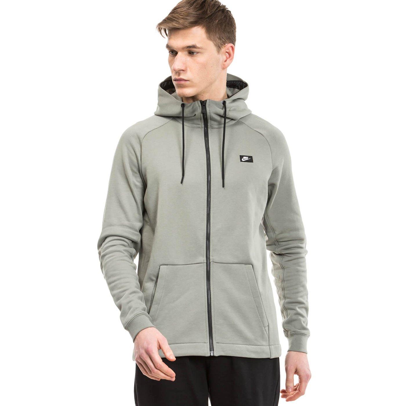 Nike Sportswear Modern Erkek Gri Sweatshirt