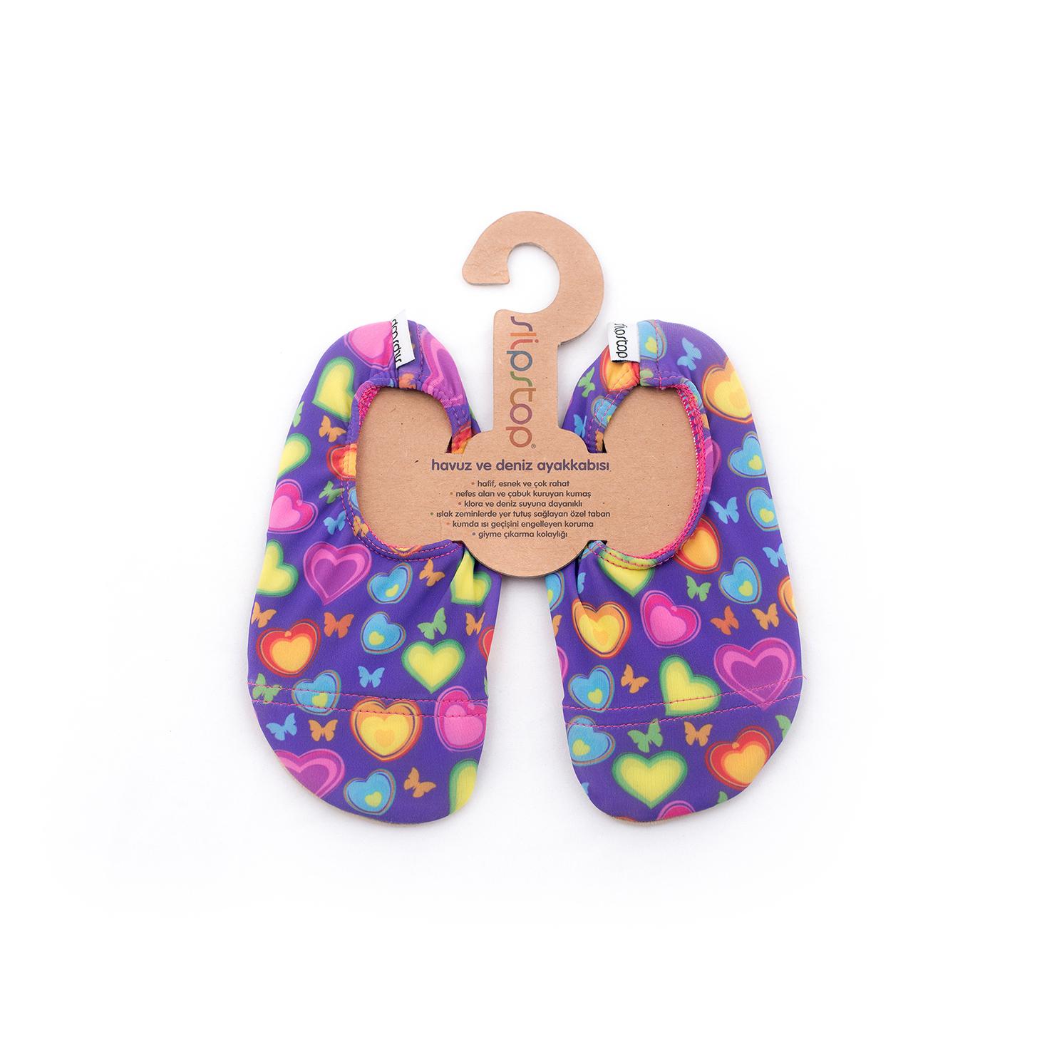 Slipstop Sweet Renkli Çocuk Havuz Ayakkabısı
