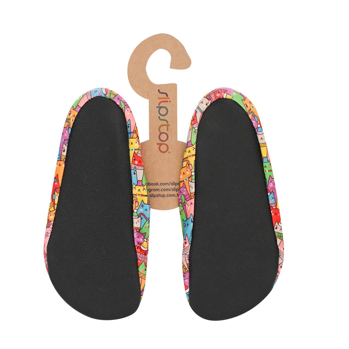 Slipstop Cold Renkli Çocuk Havuz Ayakkabısı