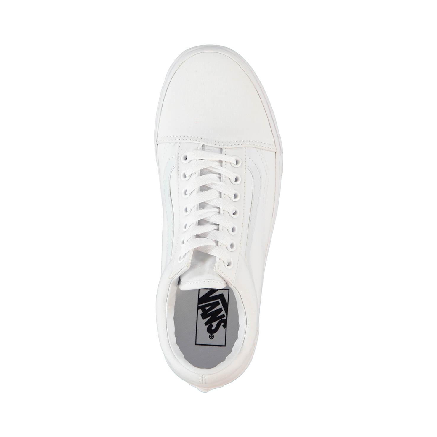 Vans Ua Old Skool Unisex Beyaz Sneaker