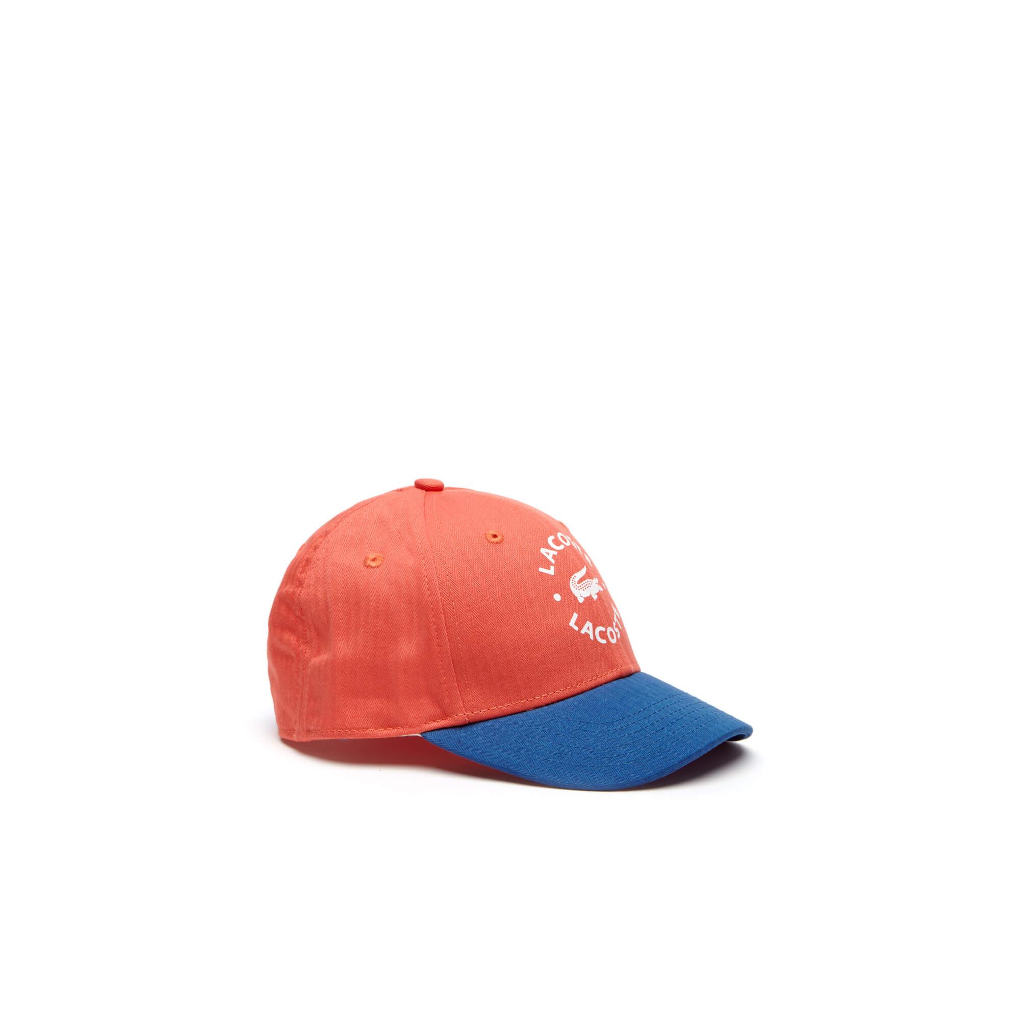 Lacoste Denim Unisex Kırmızı Şapka