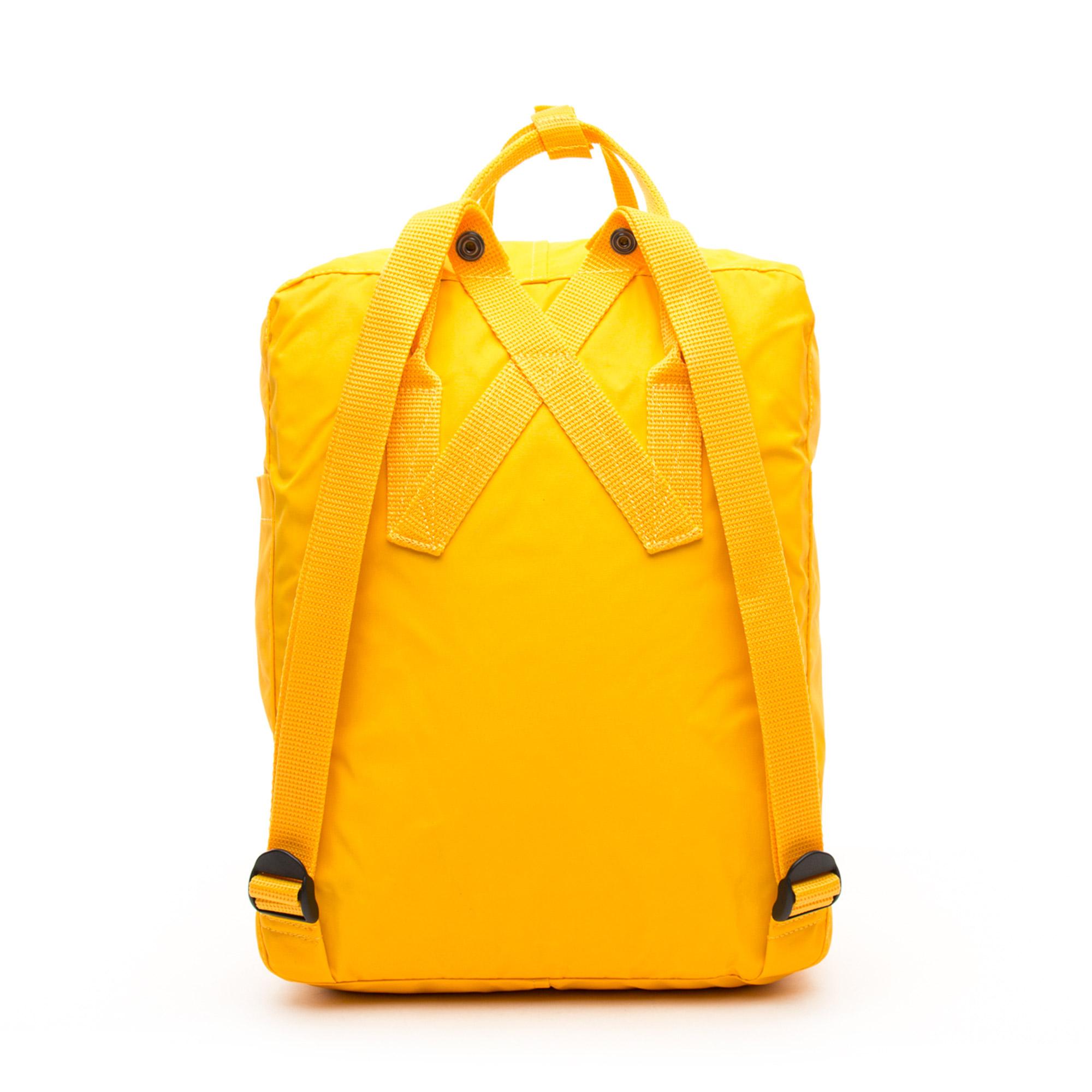 Kanken Unisex Sarı Sırt Çantası