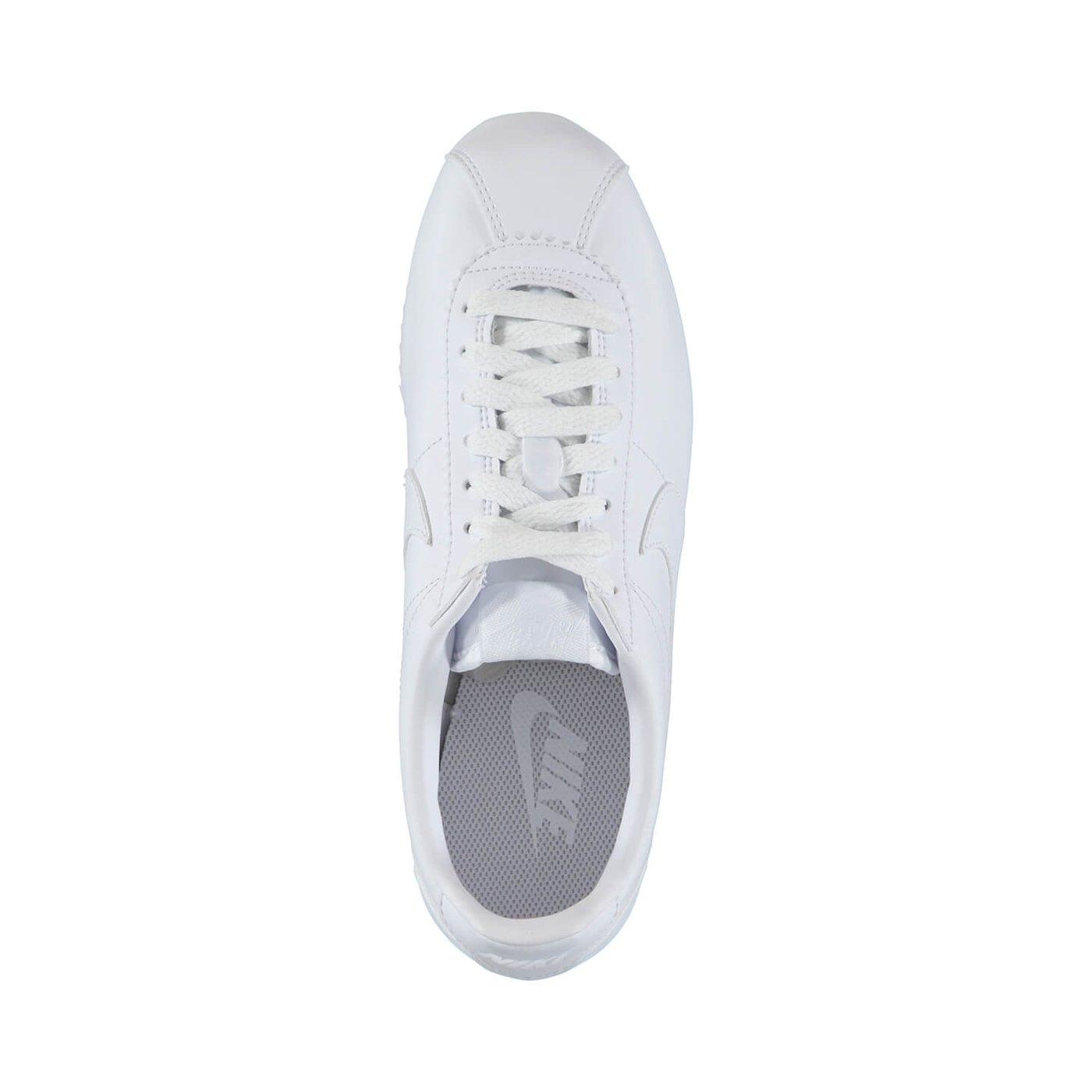 Nike Classic Cortez Leather Kadın Beyaz Sneaker