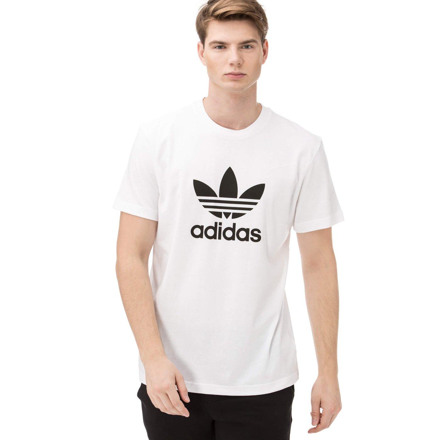 adidas Trefoil Erkek Beyaz Tshirt