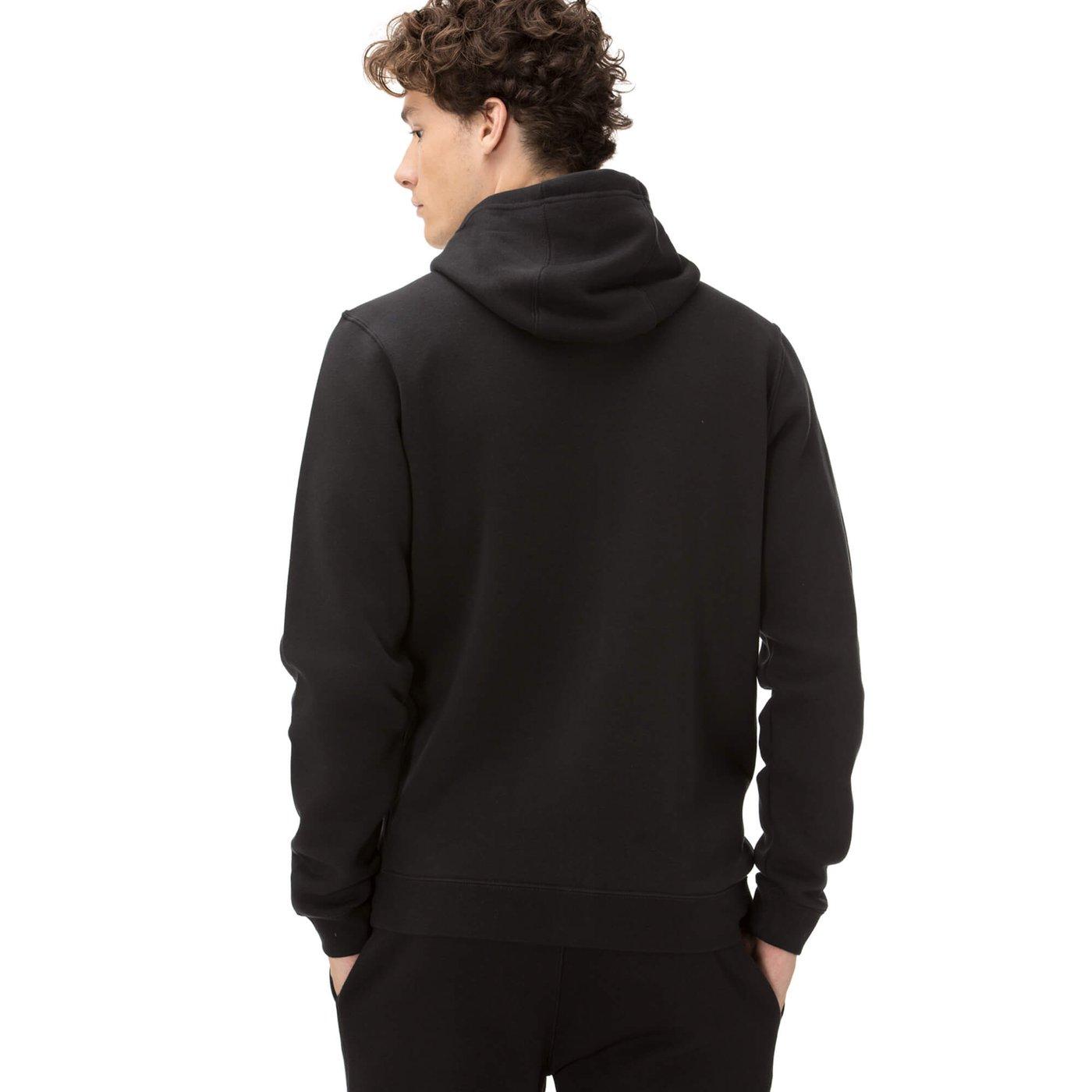 Nike Erkek Siyah Fermuarlı Sweatshirt