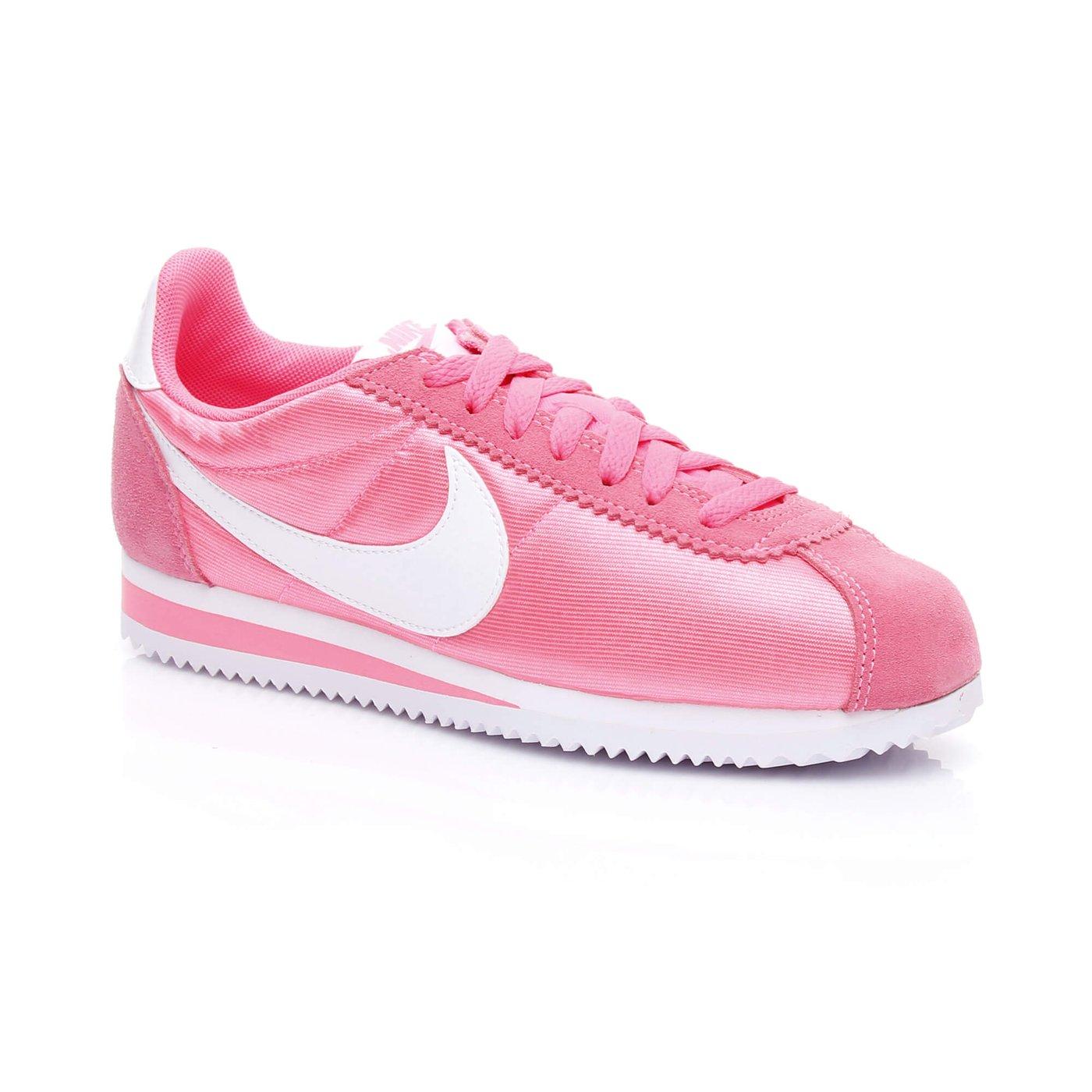 Nike Classic Cortez 15 Nylon Kadın Pembe Sneaker