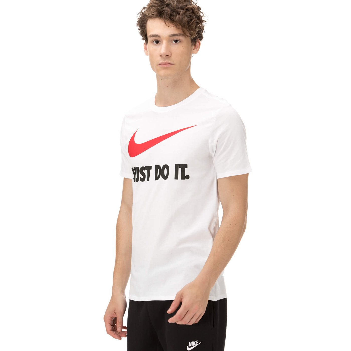 Nike Just Do It Erkek Beyaz T-shirt
