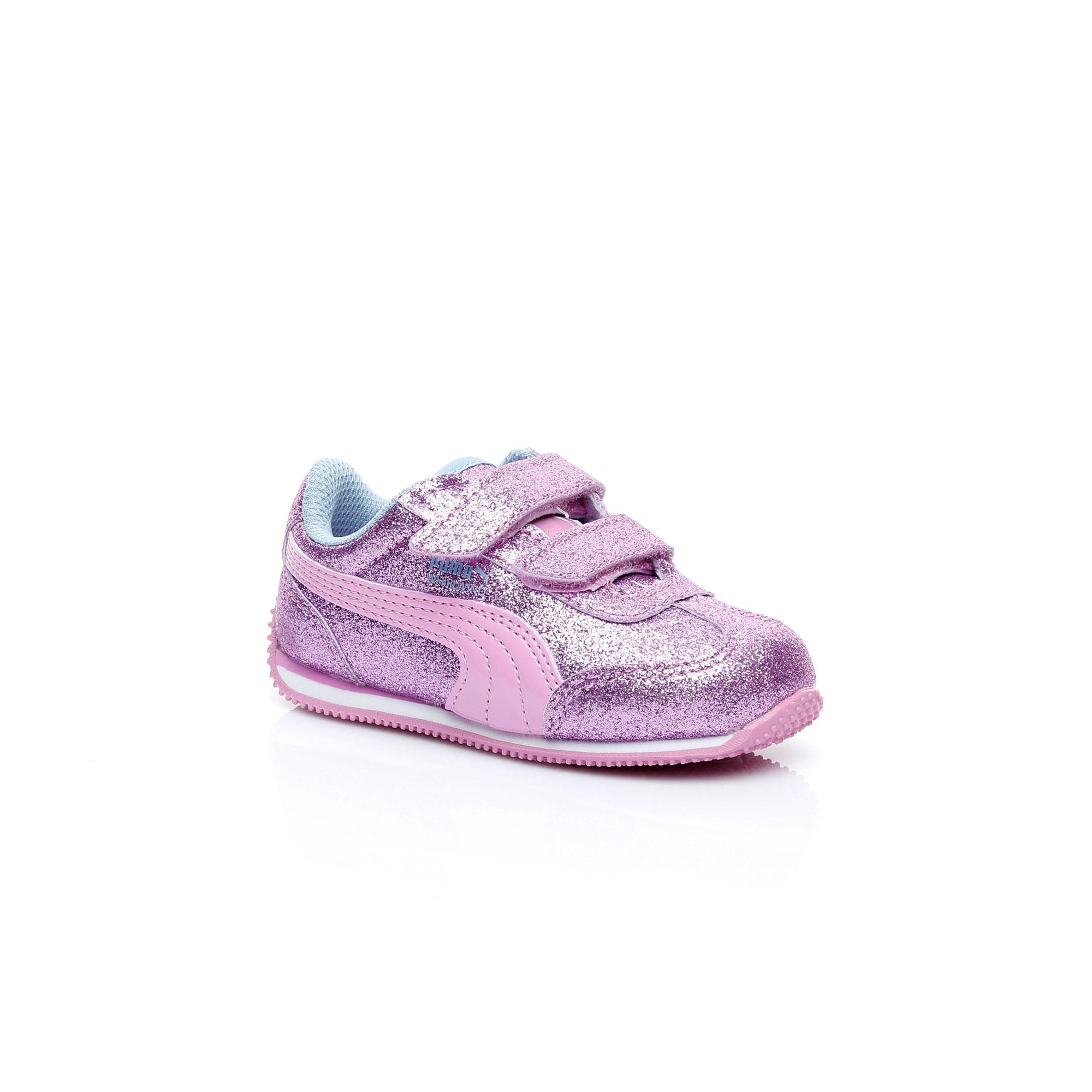Puma Whırlwınd Glıtz Çocuk Beyaz Sneaker