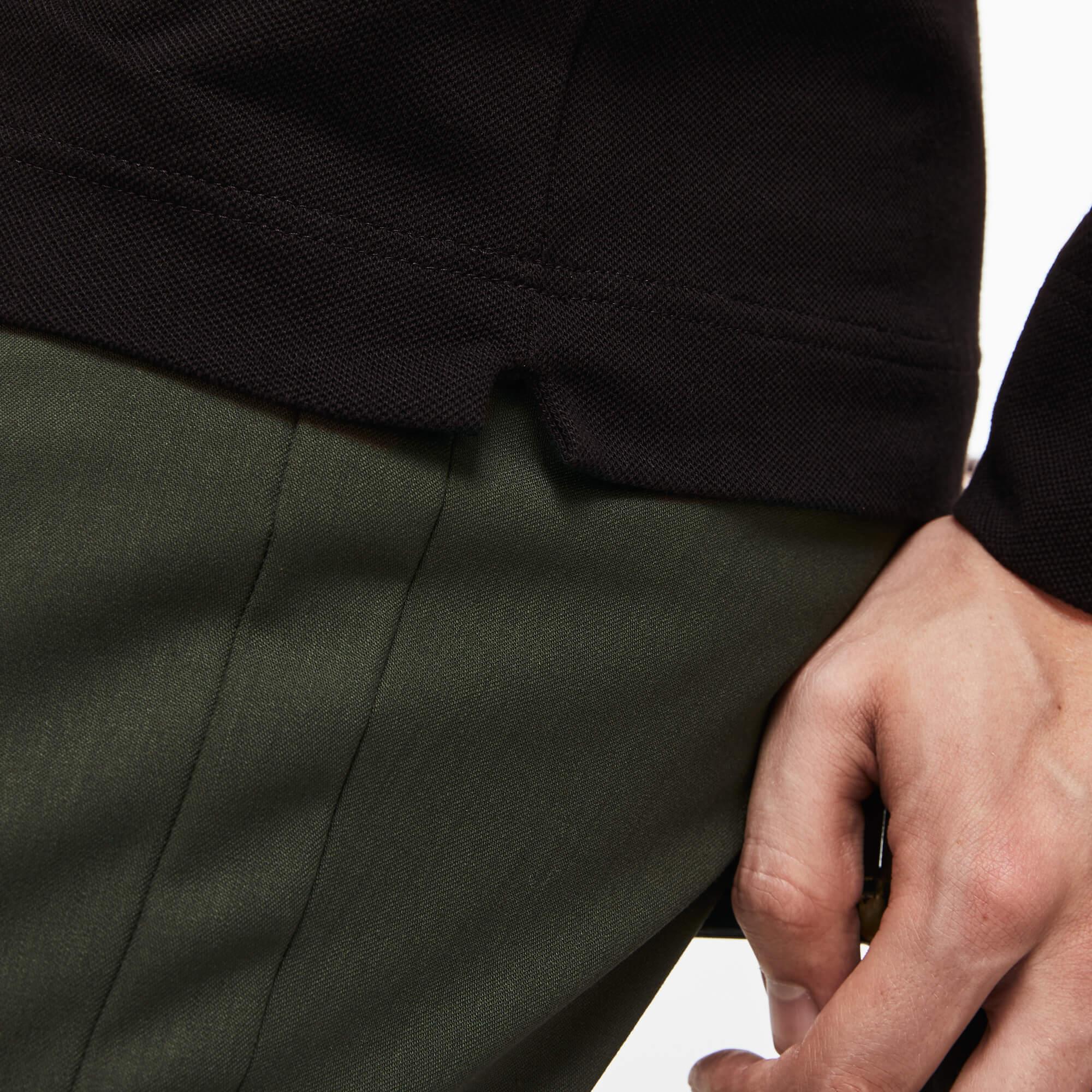 Lacoste Erkek Siyah Regular Fit Polo