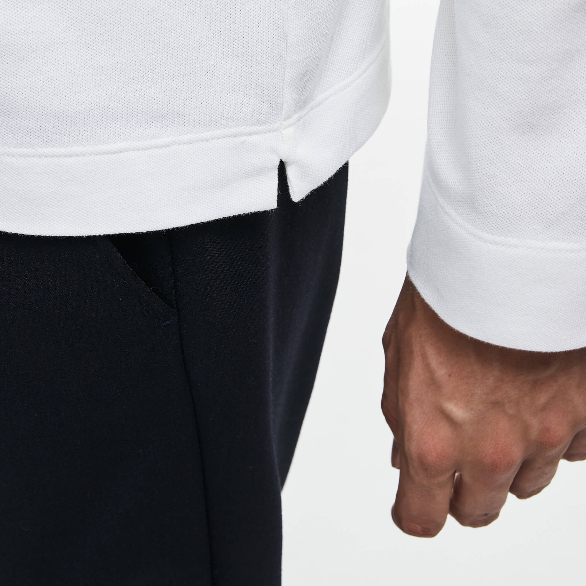 Lacoste Erkek Beyaz Regular Fit Polo