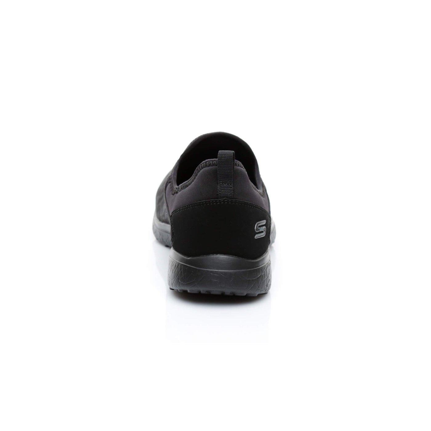 Skechers MicroBurst Kadın Siyah Spor Ayakkabı