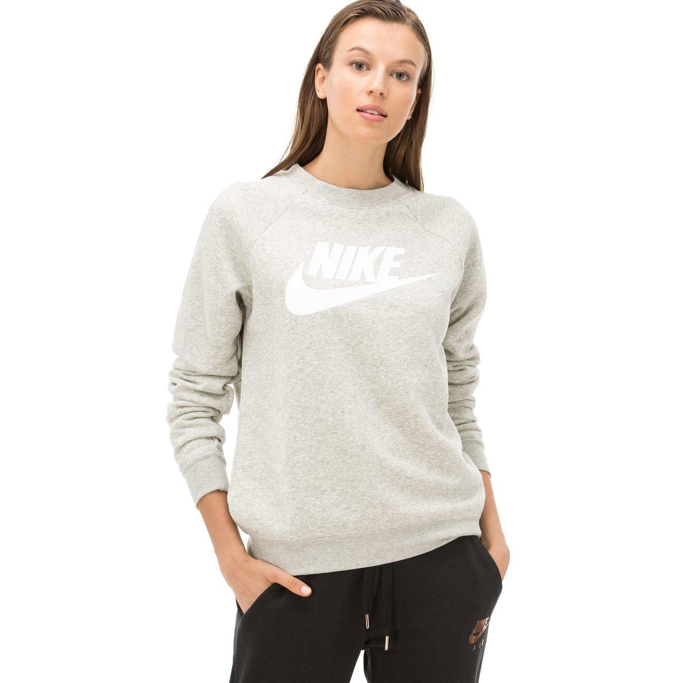 Nike Rally Kadın Gri Sweatshirt