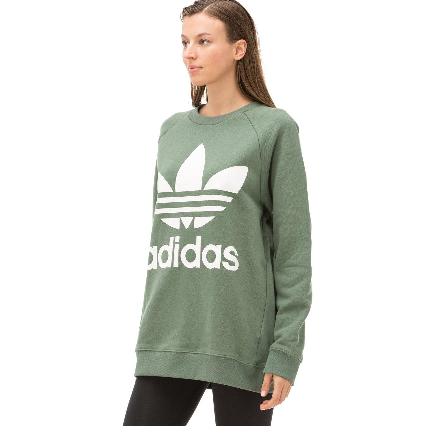 adidas Kadın Yeşil Sweatshirt