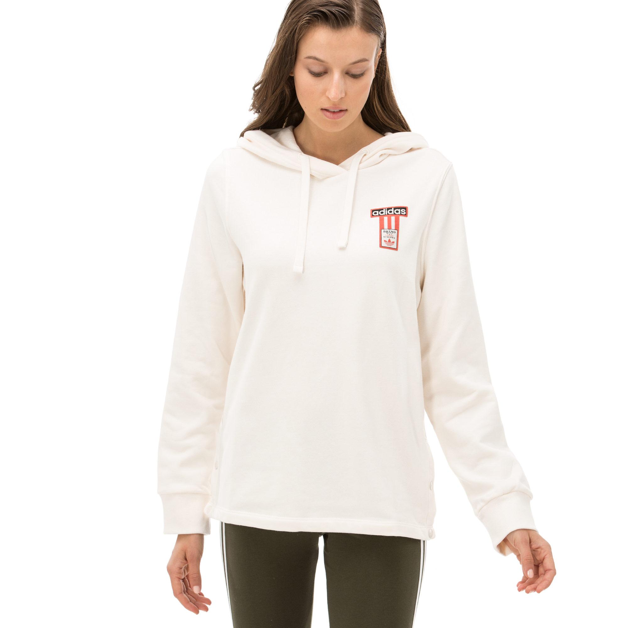 adidas Adibreak Kadın Krem Sweatshirt