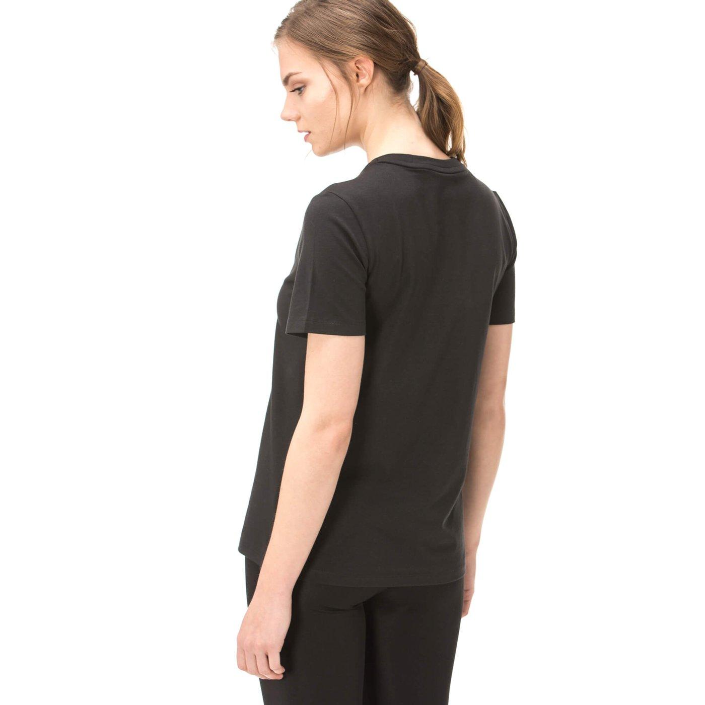 adidas Trefoil Tee Kadın Siyah Tshirt