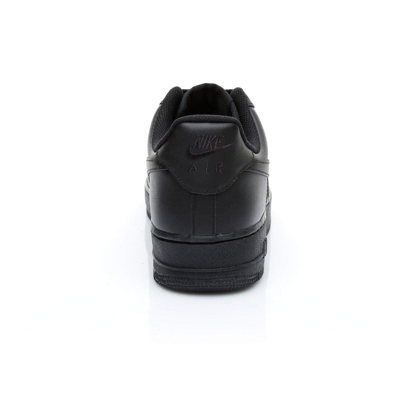 Nike Air Force 1'07 Erkek Siyah Sneaker