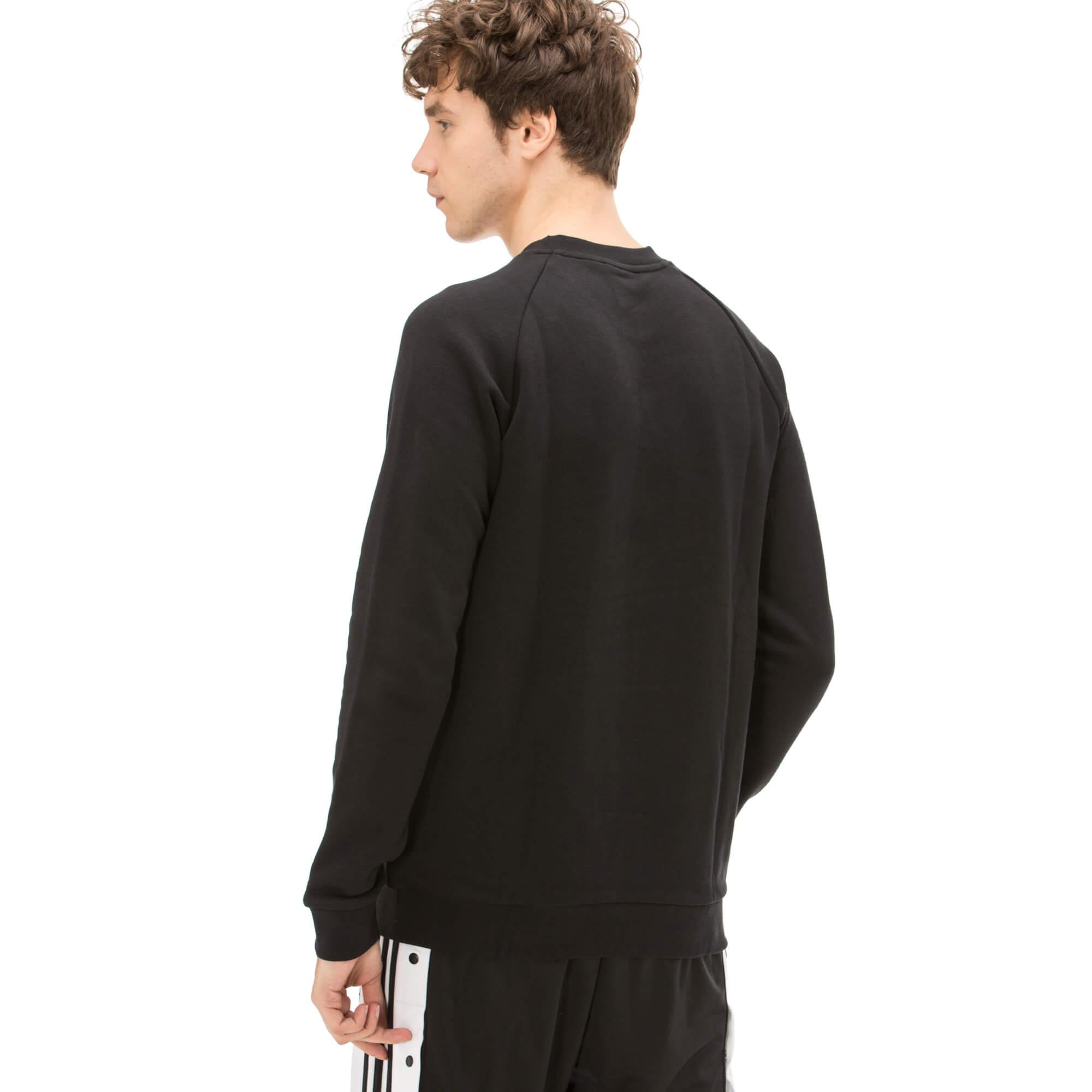 adidas Trefoil Erkek Siyah Sweatshirt