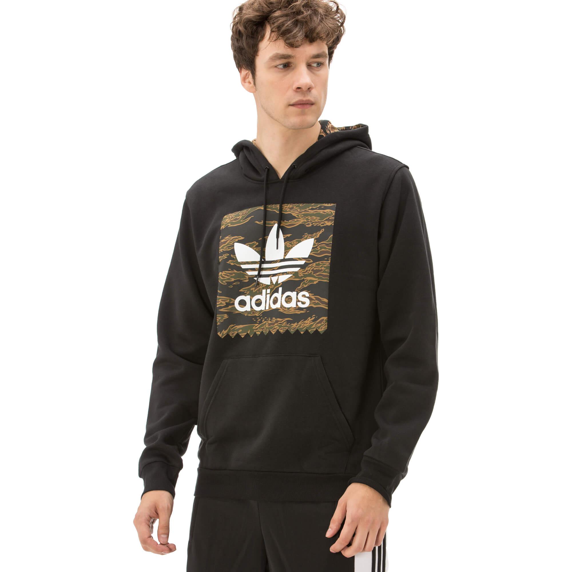 adidas Blackbird Erkek Siyah Sweatshirt