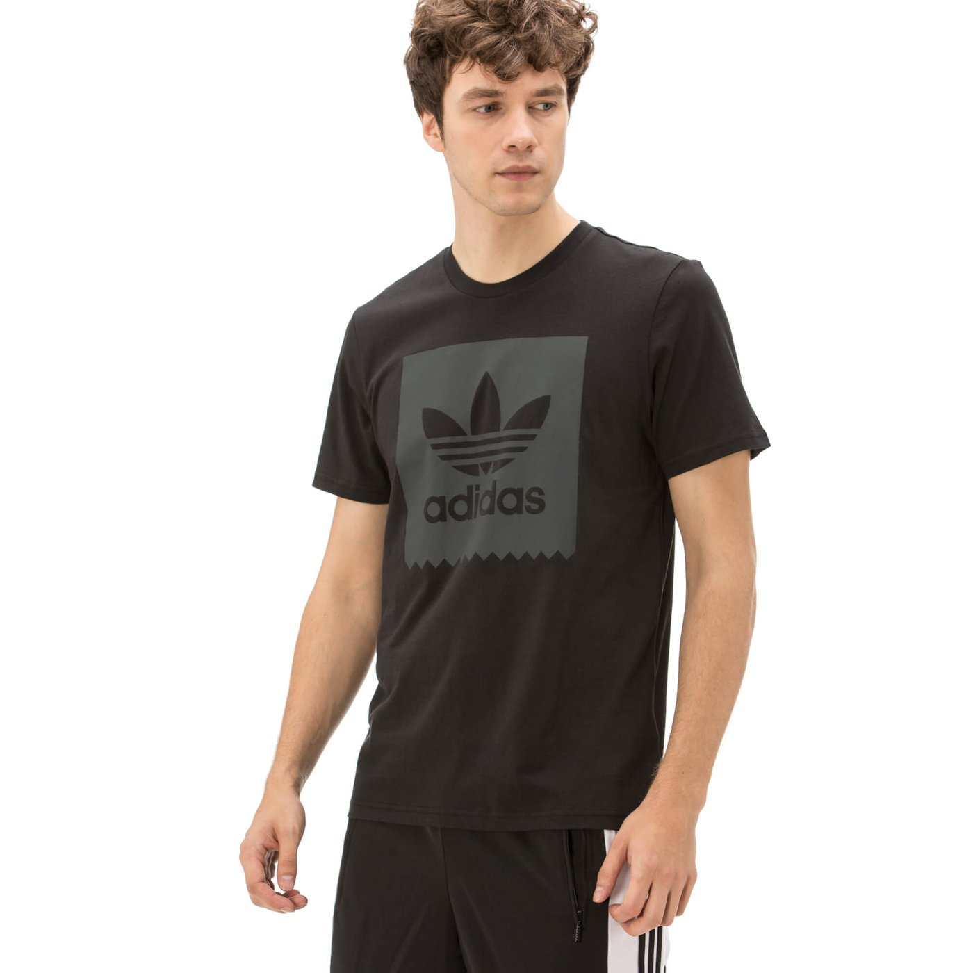 adidas Blackbird Erkek Siyah T Shirt