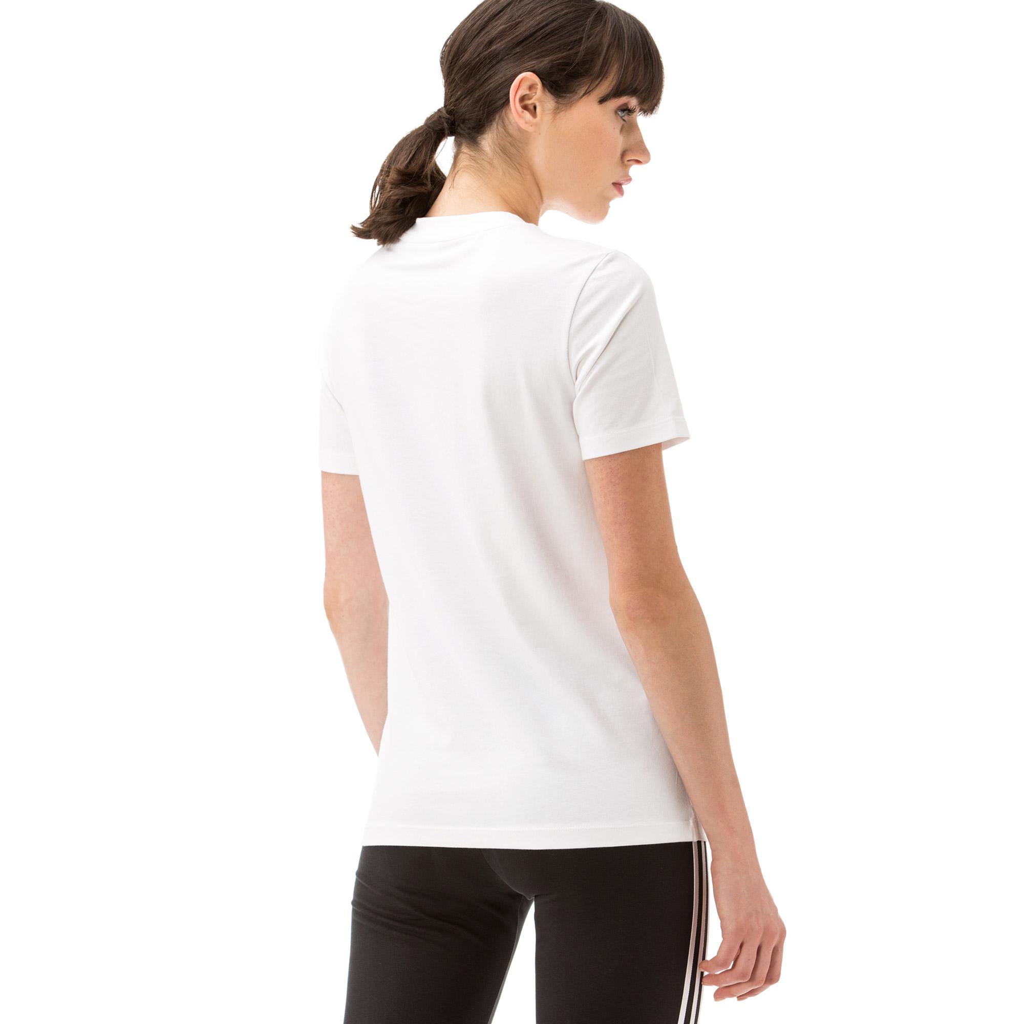 adidas Trefoil Kadın Beyaz T-shirt