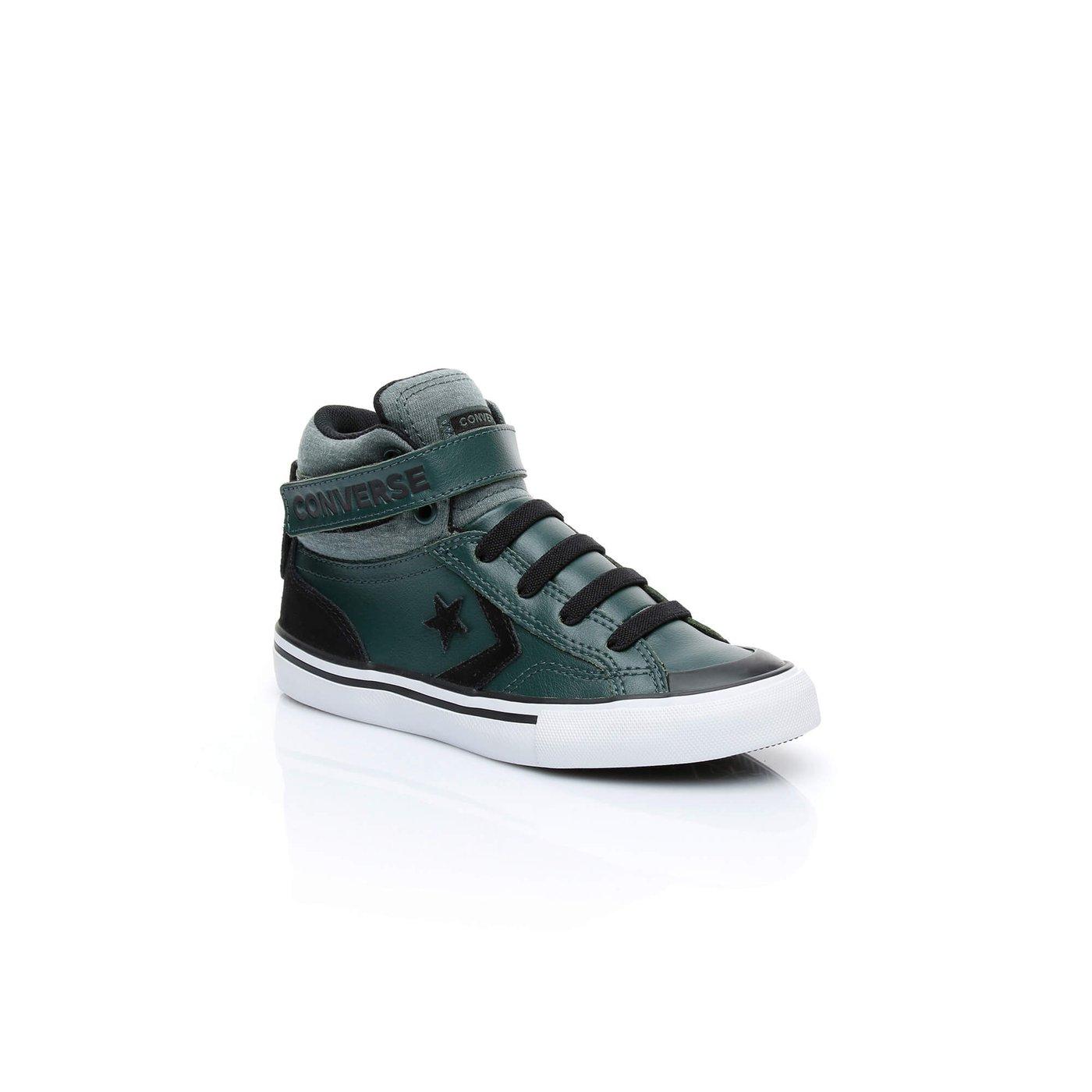 Converse Pro Blaze Strap Mid Çocuk Yeşil Sneaker