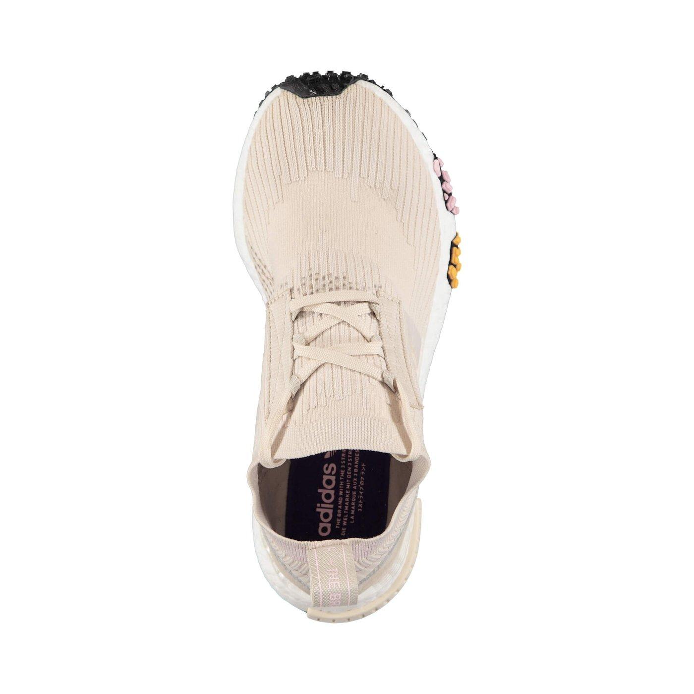 adidas NMD Racer Primeknit Kadın Bej Sneaker